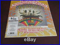 The Beatles Magical Mystery Tour Rare Mono 2014 With 24 Page Color Book 180gram