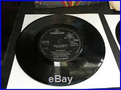 The Beatles Magical Mystery Tour Uk 1967 1st Press Mono & Stereo Vinyl 45 EP's