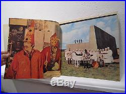 The Beatles Magical Mystery Tour Vinyl Record includes 24-page color book