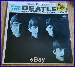 The Beatles Meet The Beatles 1964 Stereo Lp Vinyl Factory Sealed