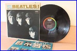 The Beatles Meet the Beatles! Vinyl LP original inner Capitol T2047