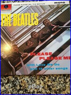 The Beatles Mono Collection 921/1000 11 Vinyl Set Uk 1982 Bm1 Ex-Mint Shape Rare