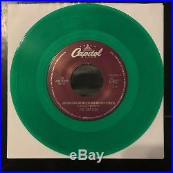 The Beatles Norwegian Wood S7-18888 GREEN VINYL VERY RARE