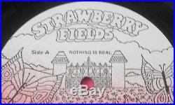 The Beatles Nothing Is Real 12 Vinyl / LP Record Strawberry Fields