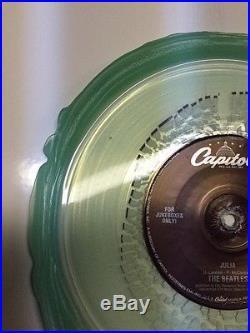 The Beatles Ob-La-Di, Ob-La-Da / Julia process test Press Clear vinyl 45 rare