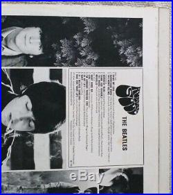 The Beatles Original 1st Rubber Soul Original 1965 UK Stereo Vinyl LP