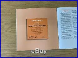 The Beatles Original Master Recordings Vinyl Box Set 14 Records, Geo-Disc & Book