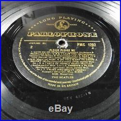 The Beatles PLEASE PLEASE ME Mono GOLD 1st Press Vinyl Album PMC 1202 VG/G