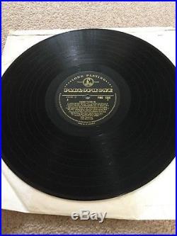 The Beatles PLEASE PLEASE ME Mono Vinyl Album, 1st Pressing Gold Label PMC1202