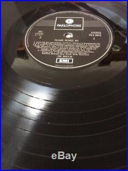 The Beatles PLEASE PLEASE ME Vinyl LP PCS 3042 One Box 1969 U. K. PRESSING N/M