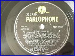 The Beatles Please Please Me 1963 Uk -1n Mono Vinyl Lp With Rare Zkt Taxcode