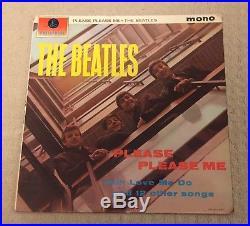 The Beatles Please Please Me 1st Northern Songs Gold/Black UK vinyl LP album
