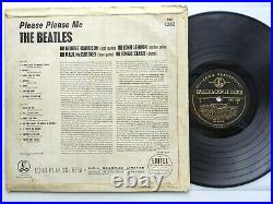 The Beatles Please Please Me. 1st Press Dick James Black/Gold! F/F+. Vinyl LP