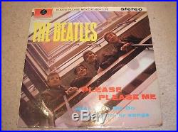 The Beatles. Please Please Me. 3rd Press. Stereo Vinyl LP. 1/1 Matrix. 1M/1G Stampers