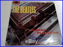 The Beatles Please Please Me 5th Press MONO Excellent Vinyl LP Record PMC 1202