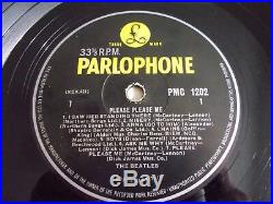 The Beatles Please Please Me LP 1963 Parlophone UK Mono 3rd Press Vinyl Record
