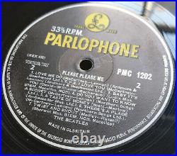 The Beatles Please Please Me Lp Mono Uk 1963 Y/b 1n/1n Matrix Ex/ex Pro Cleaned