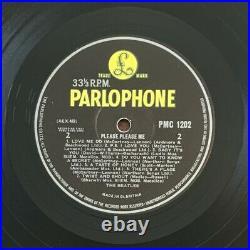 The Beatles / Please Please Me Vinyl Lp Album UK 1963 MONO PMC1202 (XEX. 421)