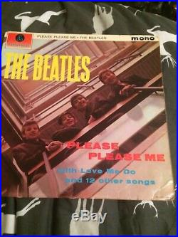 The Beatles Please Please Me Vinyl Lp Mono Original First Pressing 1963