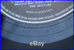 The Beatles Please Please Me Vinyl Lp Uk Early Press Mono Ex+ Pmc 1202 Mt