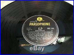 The Beatles Please Please Me Vinyl Lp Uk Parlophone Y/b 5th Press 1g Stamper