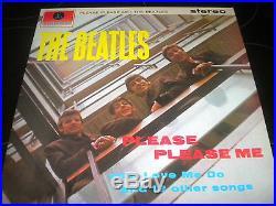 The Beatles Please Please Me Vinyl Record Album LP PCS 3042 1963