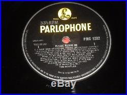 The Beatles Please Please Me Vinyl Record LP Album PMC 1202 PARLOPHONE