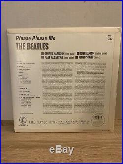 The Beatles Please Please Me vinyl Lp Black and Gold