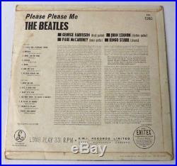 The Beatles Please please me UK MONO VINYL LP YEX421-1N & YEX422-1N MATRIX