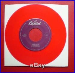 The Beatles RARE 1992 LOVE ME DO RED VINYL JUKE BOX ONLY 45 NEW