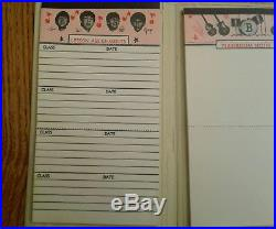 The Beatles RARE original 1964 vinyl Assignment Book unused near mint cond USA