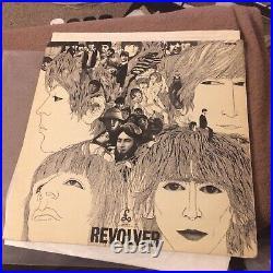 The Beatles REVOLVER ORIG UK1st PRESS MONO Vinyl LP 1966 With Label Error 606-1