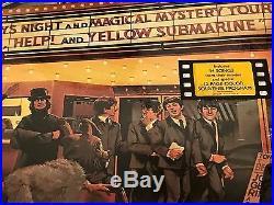 The Beatles Reel Music Original Yellow Colored Vinyl Promo Lp Still Sealed
