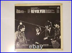 The Beatles Revolver 1966 Mono (XEX 605-2/XEX 606-2) KT Vinyl LP Awesome Play