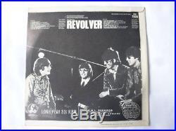 The Beatles Revolver 1966 Uk 1st Press Vinyl Lp Dr Robert Withdrawn MIX