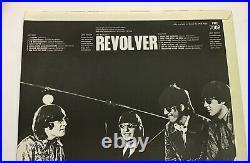 The Beatles Revolver Mint Vinyl & Cover UK 1966 1st Press'XEX 606-1' side 2