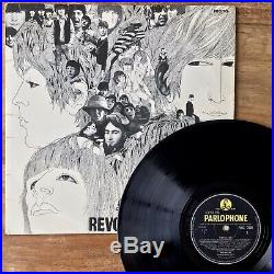 The Beatles Revolver (Parlophone PMC 7009) 1965 1st UK Vinyl Dr. Robert