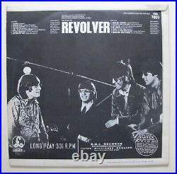 The Beatles Revolver Vinyl PMC 7009 XEX 605 2 Exc/Exc+ Play Tested Mono KT TAX