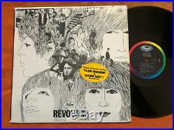The Beatles Revolver in shrink with HYPE STICKER mono original US vinyl LP