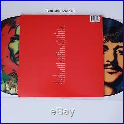The Beatles Richard Avedon Picture Disc Vinyl 2 Lp Set Limited 500 Mint