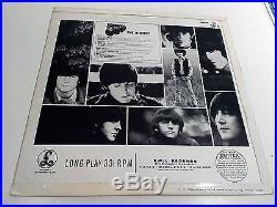 The Beatles Rubber Soul 1st Press Excellent Vinyl Record LP PCS 3075 Flipback