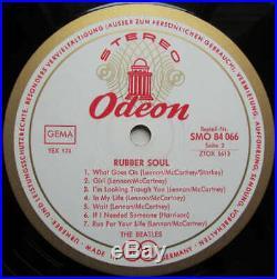 The Beatles Rubber Soul (LP, Album) Vinyl Schallplatte 169563