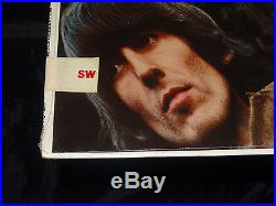 The Beatles Rubber Soul SEALED USA 1971-76 RIAA 12 PROMO VINYL LP With NO BARCODE