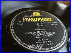 The Beatles Rubber Soul UK Mono First Press -1/-1 Loud Cut Vinyl Lp