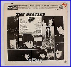 The Beatles Rubber Soul VINYL LP RECORD Longines Symphonette Record Club ST-2442