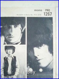 The Beatles Rubber Soul Vinyl 12 Scarce Loud Cut 1/1 Press PMC 1267 UK 1965