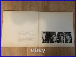 The Beatles S/T White Album 1968 Apple SWBO101 1st US Jacket/Vinyl VG+ Inserts