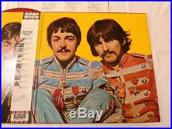 The Beatles SGT. PEPPERS JAPAN ORIGINAL 1982 UK CUTTING LIMITED MONO RED VINYL