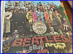 The Beatles SGT. PEPPERS LONELY HEARTS CLUB BAND MONO VINYL LP FIRST PRESSING