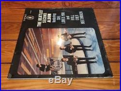 The Beatles Second Album 1964 Odeon ZTOX 5558 German Jacket/Vinyl VG+